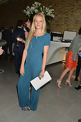 SAVANNAH MILLER at a summer drinks party hosted by Bec Astley Clarke at the Serpentine Sackler Gallery, Hyde Park, London on 17th June 2014.