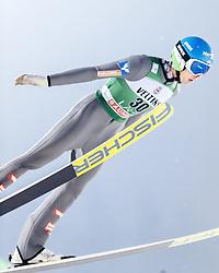 February 8, 2019 - Lahti, Finland - Philipp Aschenwald participates in FIS Ski Jumping World Cup Large Hill Individual training at Lahti Ski Games in Lahti, Finland on 8 February 2019. (Credit Image: © Antti Yrjonen/NurPhoto via ZUMA Press)