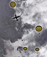 D-Day75 Commemorative Parachute Descent, France