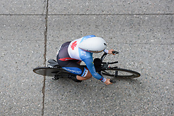 Karol-Ann Canuel at UCI Road World Championships Elite Women's Individual Time Trial 2017 a 21.1 km time trial in Bergen, Norway on September 19, 2017. (Photo by Sean Robinson/Velofocus)