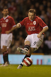 Manchester, England - Tuesday, March 13, 2007: Manchester United's Wayne Rooney during the UEFA Celebration Match against a Europe XI at Old Trafford. (Pic by David Rawcliffe/Propaganda)