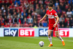 George Friend of Middlesbrough - Mandatory by-line: Robbie Stephenson/JMP - 12/05/2018 - FOOTBALL - Riverside Stadium - Middlesbrough, England - Middlesbrough v Aston Villa - Sky Bet Championship