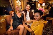 Eastern & Oriental Express. Thai Dance at the Bar Car.