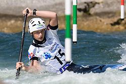 Simona GLEJTEKOVA of Slovakia during the Canoe Single (WC1) Womens Semi Final race of 2019 ICF Canoe Slalom World Cup 4, on June 30, 2019 in Tacen, Ljubljana, Slovenia. Photo by Sasa Pahic Szabo / Sportida