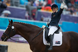 Formosa Joann (AUS) - Worldwide PB<br /> Team Test - Grade Ib - Dressage <br /> London 2012 Paralympic Games<br /> © Hippo Foto - Jon Stroud