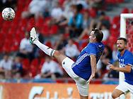 FODBOLD: Niclas Jensen under showkampen efter FC Københavns guldfest den 28. maj 2017 i Telia Parken, København. Foto: Claus Birch