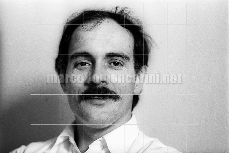 Italian writer and scriptwriter Giovanni Pascutto (1980) / Giovanni Pascutto, scrittore e sceneggiatore (1980) - © Marcello Mencarini