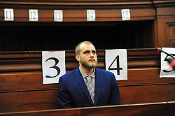 Cape Town - 180521 - Henri van Breda is in the Western Cape High Court with judgment expected to be delivered in his trial today. Henri is accused of bludgeoning his parents, Martin and Teresa, and his older brother Rudi, to death by axe on January 27, 2015. He also faces a charge of attempted murder for an attack on his sister Marli, who was 16 years old at the time and now suffers from retrograde amnesia. Picture: Cindy Waxa/African News Agency/ANA