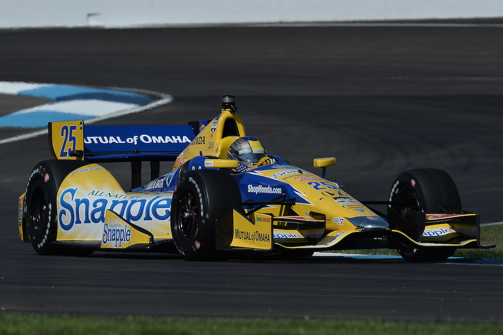 Marco Andretti, Grand Prix of Indianapolis, Indianapolis Motor Speedway, Indianapolis, IN USA 5/10/2014