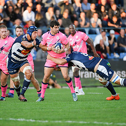 Andres ZAFRA of Agen during the Top 14 match between Agen and Stade Francais on October 19, 2019 in Agen, France. (Photo by Julien Crosnier/Icon Sport) - Andres ZAFRA - Stade Armandie - Agen (France)