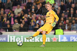 November 5, 2019, Barcelone, Espagne: FOOTBALL: FC Barcelone vs SK Slavia Praha - Champions League - 05/11/2019.Marc Andre Ter Stegen. (Credit Image: © Panoramic via ZUMA Press)