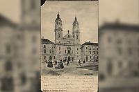 Crkva i samostan reda Družbe Isusove u Zagreb : Janko Holjac, ovl. civ. arhitekt. <br /> <br /> ImpresumZagreb : Naklada A. Brusine, [1902].<br /> Materijalni opis1 razglednica : tisak ; 8,8 x 14,1 cm.<br /> SuradnikMosinger, Rudolf(1865.–1918.)<br /> NakladnikTiskara A. Brusina<br /> Mjesto izdavanjaZagreb<br /> Vrstavizualna građa • razglednice<br /> ZbirkaZbirka razglednica • Grafička zbirka NSK<br /> ProjektPozdrav iz Hrvatske<br /> Formatimage/jpeg<br /> PredmetZagreb –– Junija Palmotića<br /> SignaturaRZG-PALM-2<br /> Obuhvat(vremenski)20. stoljeće<br /> NapomenaRazglednica je putovala 1902. godine. • Poleđina razglednice namijenjena je samo za adresu. • Razglednica je izrađena po fotografiji R. Mosingera.<br /> PravaJavno dobro<br /> Identifikatori000954557<br /> NBN.HRNBN: urn:nbn:hr:238:430497 <br /> <br /> Izvor: Digitalne zbirke Nacionalne i sveučilišne knjižnice u Zagrebu