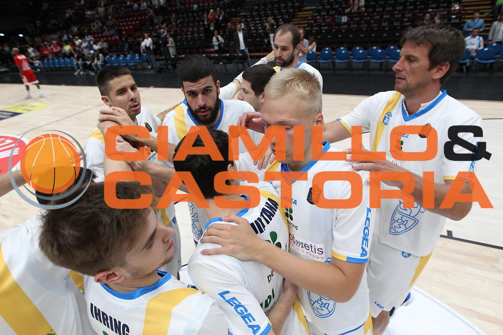 Team Capo d'Orlando, EA7 Emporio Armani Milano vs Capo d'Orlando LBA Serie A Playoff gara 2 stagione 2016/2017 Mediolanum Forum Assago, Milano 14 maggio 2017