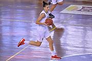 Cecilia Zandalasini<br /> Nazionale Italiana Femminile Senior - Rappresentativa Straniere<br /> LegA Basket Femminile 2016/2017<br /> Lucca, 04/10/2016<br /> Foto Ciamillo-Castoria
