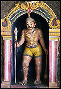 Guardian deity in a small temple at Udappu.<br />Temple close to the area where they used to collect fresh drinking water from wells near the beach.