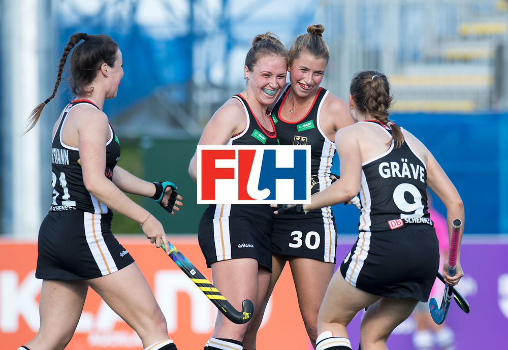 AUCKLAND - Sentinel Hockey World League final women<br /> Match id: 10303<br /> 13 GER v KOR (QF) 3-3<br /> Korea in to semi after shoot out.<br /> Foto:  goal celebration <br /> WORLDSPORTPICS COPYRIGHT FRANK UIJLENBROEK