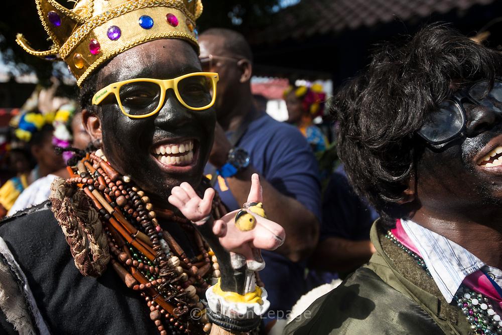 Festival de la Pollera Congo, Portobelo, Panama.  2018