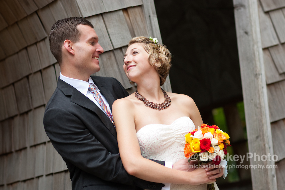 Wedding of James Rose and Julia Prosser in Indianapolis, IN.