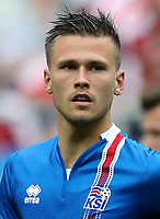 Uefa - World Cup Fifa Russia 2018 Qualifier / <br /> Iceland National Team - Preview Set - <br /> Arnor Ingvi Traustason
