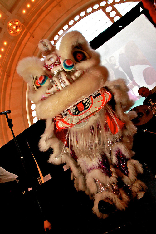Seattle International District Spring Roll 2010 celebration and fundraiser for SCIDpda. Lion Dancers provided by the International School of Martial Arts.