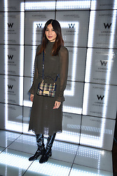 Gemma Chan at the official launch of The Perception at W London, 10 Wardour Street, London England. 7 November 2017.<br /> Photo by Dominic O'Neill/SilverHub 0203 174 1069 sales@silverhubmedia.com