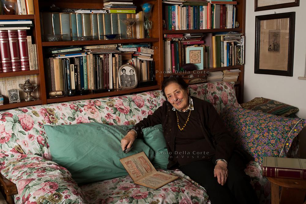 Venezia - Comunità ebraica di Venezia. Lia Finzi, ex assessora alle politiche sociali di Venezia,