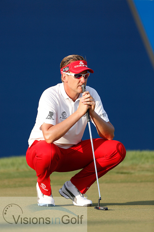 Ian Poulter<br /> during the third round of the Race To Dubai DP World Tour Golf Championship, Dubai, UAE November  2013<br /> Picture Credit:  Mark Newcombe / www.visionsingolf.com
