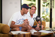 Chris McCormack and Jurgen Zack Podcast Recording, August 23, 2014 - TRIATHLON : Thanyapura Feature, Thanyapura, , Phuket, Thailand.