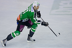 Ziga Pavlin (HDD Tilia Olimpija, #17) during ice-hockey match between HD Tilia Olimpija and HK Acroni Jesenice  in 8th Round of EBEL league, on October 3, 2010 at Hala Tivoli, Ljubljana, Slovenia. (Photo By Matic Klansek Velej / Sportida.com)