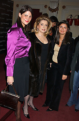 Left to right,KATRINA PAVLOS, actress CATHERINE DENEUVE and VANESSA WINGATE at a special Grand Classic screening of Place Vendome to celebrate Catherine Deneuve as MAC Beauty Icon 3 held at The Elecric Cinema, Portobello Road, London W11 on 30th January 2006.<br /><br />NON EXCLUSIVE - WORLD RIGHTS