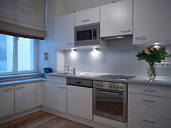 kitchen -open plan