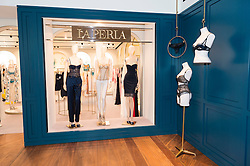 © Licensed to London News Pictures. 04/04/2016.  LE PERLA underwear store at the new SELFRIDGES Body Studio - the world's first fully integrated bodywear department and the largest retail space ever opened by the iconic London store. Covering over 37,000 sq ft, customers will experience over 3,000 brands and more than 5,000 different clothing options.London, UK. Photo credit: Ray Tang/LNP