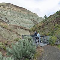 Blue Basin Fossil Beds near Kimberly, Oregon