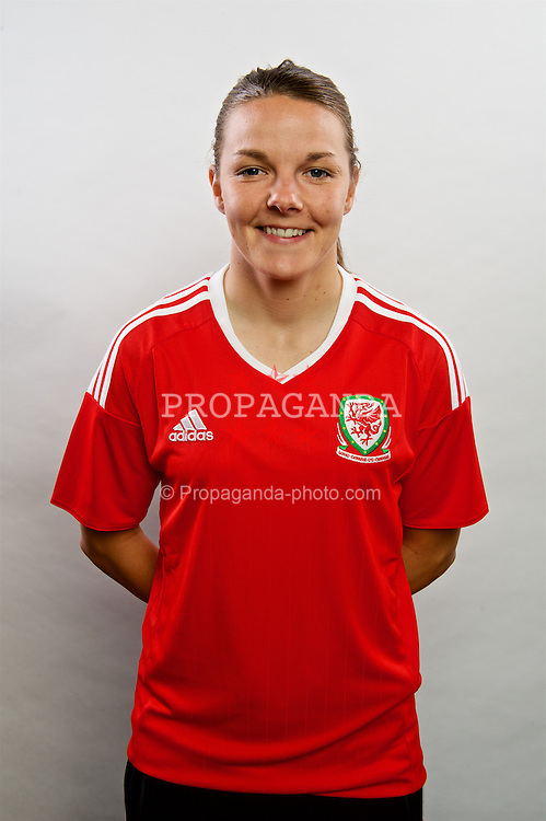CARDIFF, WALES - Wednesday, April 6, 2016: Wales' Loren Dykes. (Pic by Ian Cook/Propaganda)