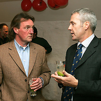 Opening of the New Bar at The Famous Grouse Experience, Glenturret Distillery, Crieff.<br />Derek Brown (Right)<br /><br />Picture by Graeme Hart.<br />Copyright Perthshire Picture Agency<br />Tel: 01738 623350  Mobile: 07990 594431