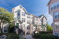 Exterior image of The Glen Apartments Clubhouse in Wheaton Maryland by Jeffrey Sauers of Commercial Photographics, Architectural Photo Artistry in Washington DC, Virginia to Florida and PA to New England