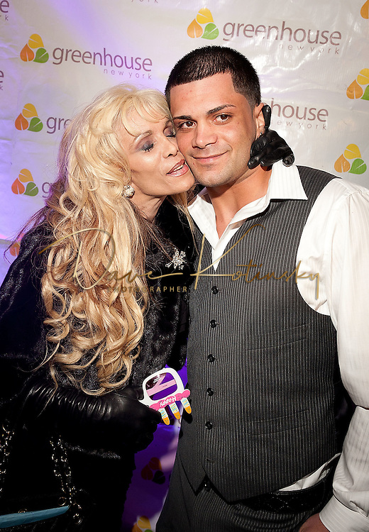 NEW YORK, NY - APRIL 13:  Victoria Gotti & Frank Gotti Agnello attends Frank Gotti's birthday celebration>> at Greenhouse on April 13, 2011 in New York City.  (Photo by Dave Kotinsky/Getty Images)