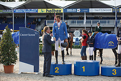Ahlmann Christian (GER)<br /> Final 7 years<br /> FEI World Breeding Jumping Championships for Young Horses - Lanaken 2014<br /> © Dirk Caremans