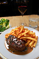 La Bourse et La Vie-steak frites