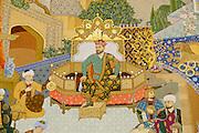 Uzbekistan, Tashkent. Amir Timur (Temerlane, m.) Museum.