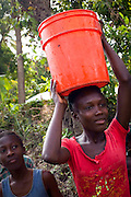 Many children who live in the villages of Bayonnais lost their homes to the unrelenting floods in 2008 that took more than 800 lives in Haiti and left more than one million homeless. The children bathe, drink and play in dirty, polluted rivers, and have no local access to health care.