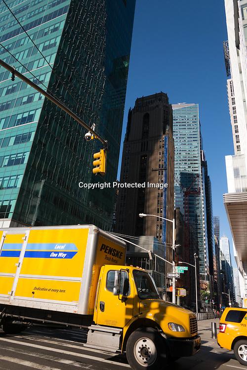 New York. The Metlife building on Bryant park.