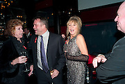 CILLA BLACK; CHRIS MILBURN; PATTI BOYD;, The afterparty for the Terrence Higgins Supper Club. Floridita, Wardour St. London. 3 November 2009
