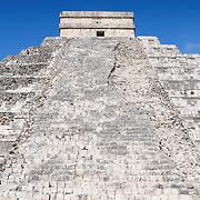 El Castillo (also known as Temple of Kuklcan) at the ancient Mayan ruins at Chichen Itza, Yucatan, Mexico 081216092402_4392.NEF