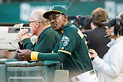 at Oakland Coliseum in Oakland, Calif., on September 2, 2016. (Stan Olszewski/Special to S.F. Examiner)
