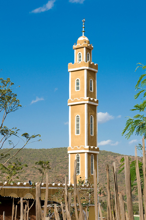 Mosque in Southern Ethiopia, Yabello,Africa