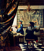 Jan Vermeer van Delft: The Art of Painting, c. 1666