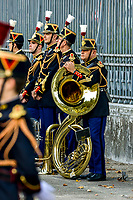 Mercredi 27 septembre 2017, les gouvernements français et italien se sont reunit a Lyon, dans le cadre du 34eme sommet franco-italien, en presence du President de la Republique Emmanuel MACRON et du President du Conseil des ministres de la Republique italienne Paolo GENTILONI.