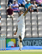 (Caption Correction) Jade Dernbach of Surrey of Surrey bowling during the Specsavers County Champ Div 1 match between Hampshire County Cricket Club and Surrey County Cricket Club at the Ageas Bowl, Southampton, United Kingdom on 11 June 2018. Picture by Graham Hunt.