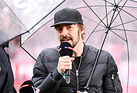Fussball  1. Bundesliga  Saison 2018/2019  32. Spieltag  FC Bayern Muenchen - Hannover 96     04.05.2019 Thomas Hayo beim Interview bei Sky Sport ----DFL regulations prohibit any use of photographs as image sequences and/or quasi-video.----